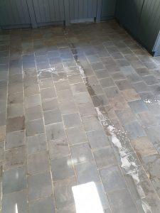 steenvloer reiniging en onderhoud